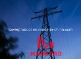 Traversa-River Transmission Steel Tower di 220kv Double Circuit