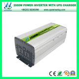 Inverseur micro de pouvoir de véhicule d'UPS 2000W avec l'affichage numérique (QW-M2000UPS)