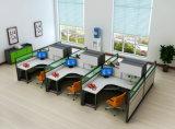 Sitio de trabajo al por mayor de la partición de la oficina para el sitio de trabajo del personal de oficina de 6 Seater (HF-YZQ516)