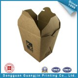 Marrón Color de papel de embalaje caja de tortas (GJ-box141)