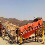 Carbone, minerale metallifero, macchina circolare del vaglio oscillante dell'arenaria