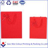Le sac de papier de cadeau, impression de sac de papier, ouvrent le sac de papier avec votre logo dans le prix usine