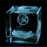 Grabador interno del laser del verde del vidrio y del regalo del grabado de Ctystal