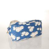 Sacs à main imperméables à l'eau de sac d'épaule de configuration de ciel bleu de toile de PVC (99213)