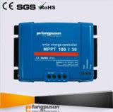 Garantie 2 ans de MPPT100/30 d'alimentation solaire du système 12V 24V de batterie de contrôleur 30A de charge