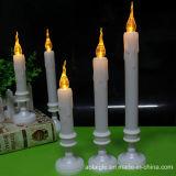 Luces altas de la vela LED de las baterías Cr2032 para la decoración del día de fiesta