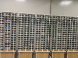 UV400 유행 옥외 가득 차있는 프레임 Arnette Retro 투명한 색안경