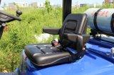 2.5 Tonne LPG-Benzin-Motor-Gabelstapler, voller freier Mast, seitliche Schiebung, automatisches Senden