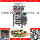 Loose Granules를 위한 다중 Head Weigher Automatic Packaging Machine
