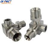 Précision usinant l'acier inoxydable usinant pour l'adaptateur de pipe