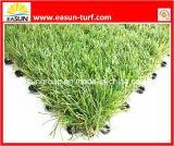 Tuiles artificielles d'herbe avec le support de verrouillage (ESTA4SA35D)