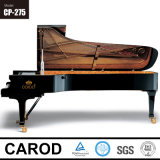 Grand piano à queue acoustique en bois 275cm