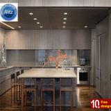 2016 Nueva llegada del estilo clásico de PVC MDF Muebles de Cocina
