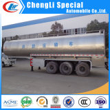 Нержавеющая сталь 45000L 30ton Milk Delivery Tank Truck Trailer 3 Axle для Sale