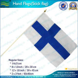 Hand, die Miniland-Markierungsfahne (NF01F02026, wellenartig bewegt)