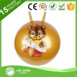 Bola de salto Co-Cómoda de la bola de la tolva del PVC con la bola inflable de la bola de la despedida de la maneta