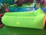 Sofá inflável de acampamento de viagem inflável de Laybag do saco de sono do ar, saco de sono da banana