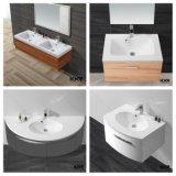 Раковина тщеты ванной комнаты конструкции шкафа твердая поверхностная (161027)