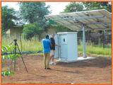 sistema 30kw solar com apoio de bateria