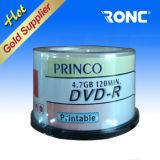 Disco poco costoso del grado a+ 120min 4.7GB 16X DVD-R dello spazio in bianco di prezzi