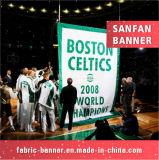 Sports Polyester-Drucken 100% die Markierungsfahne und macht Markierungsfahne bekannt