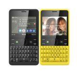Geopende Nokya Asha 210 de Telefoon Nieuwe Simfree van de Cel van het Toetsenbord Qwerty