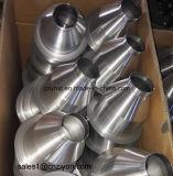 Peça de giro de alumínio do metal feito sob encomenda