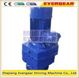 Reductor helicoidal montado borde del cemento de la serie de Evergear R
