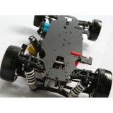 1/10 véhicule sans frottoir électrique 4WD du chassoir RC de RC RTR avec la forme bleue