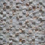 Tres Color de piedra Mezcla de mosaico de mármol para la construcción de viviendas Material de pared (FYSD066)