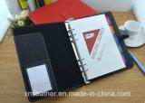 Het Boek van de Agenda van het Document van Hardcover van het Leer van de douane Pu, de Levering van het Bureau