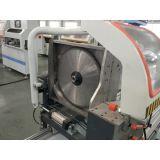 Van het aluminium Scherpe Machine van de Precisie van het pvc- Raamkozijn de Dubbele Hoofd