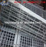 Скрежетать проступей лестницы металла горячего DIP гальванизированный Perforated