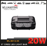 CREE LED helles fahrendes Licht des Stab-LED für 4X4 Jeep SUV 20W Wl-8012-20 (LED-LIGHT-BAR)