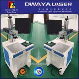 Mini máquina da marcação do laser para o empacotamento do anel e de leite