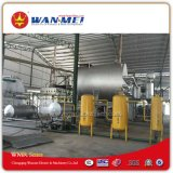 Sistema usato di ripristino dell'olio tramite distillazione sotto vuoto