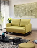Fabric moderno Functional Sofa Bed con Armrest