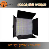 Luz de la fotografía del estudio del panel de potencia de batería LED