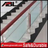 Escadaria de vidro interior do aço inoxidável (DD33)
