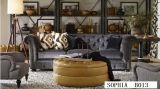 居間の家具Uの形ファブリックソファー