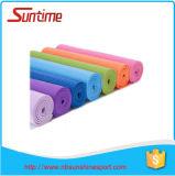 Natte antidérapage extra épaisse de yoga de PVC de qualité, natte de yoga