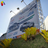 Bandiera esterna della flessione di Frontlit ricoperta PVC