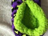 5つのカラー珊瑚のビロードの屋内靴