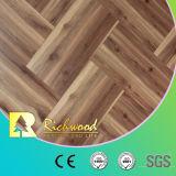 le bois de construction Waxe3d de teck de chêne de 12.3mm HDF AC4 a affilé le plancher en bois en stratifié