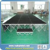 La alta calidad utilizó la etapa portable para la venta, etapa modular de la venta profesional