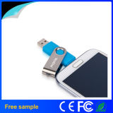 Free Sample 8GB Flash Drive Swivel OTG USB