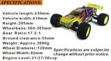 1:8 en gros Gas Brushless RC Truck de Hsp avec Metal Material Erc085