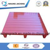 El polvo del almacén cubrió la paleta de acero Q235 hecha en China