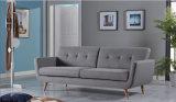 Sofá Home elegante moderno da tela da sala de visitas 3-Seaters da mobília (HC105)