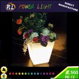 Цвет домашнего украшения пластичный беспроволочный изменяя вазу СИД
